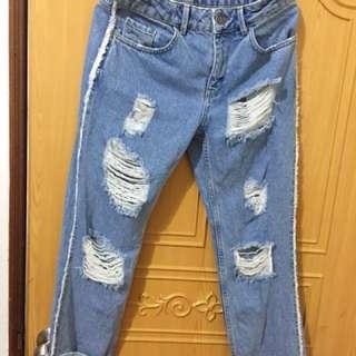 Mango牛仔褲