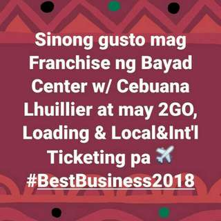 Bills Pay (Bayad Center) Plus ticketing,remittance,loading,insurance and more