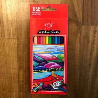 Color Pencils 12 colors