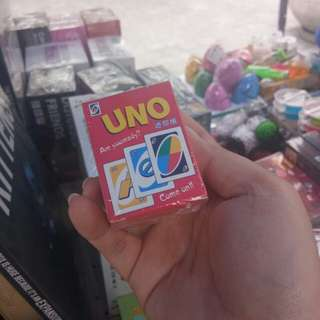 Mini Uno cards