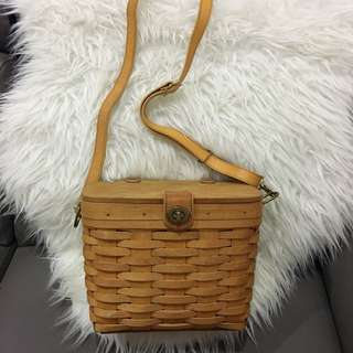 Longaberger baskets bag USA handmade 1996