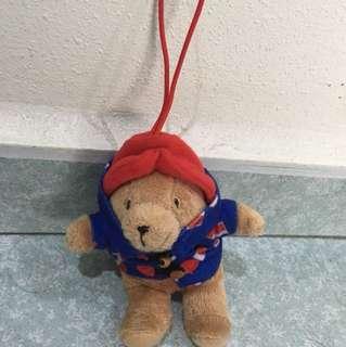 Paddington bear keychain
