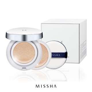 Missha magic cushion set SPF50+/PA+++ (FREE REFILL DAN EKSTRA PUFF)