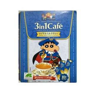 蠟筆小新3合一沖調飲書盒版-皇家奶茶