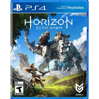 [BN] PS4 Horizon Zero Dawn (Brand New & Sealed)