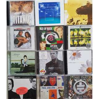 Various Artists Albums (Savage Garden, Phil Collins, Collin Raye, Take That, Enya etc)