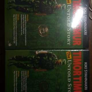 Buku biografi letjen Kiki Syahnakri