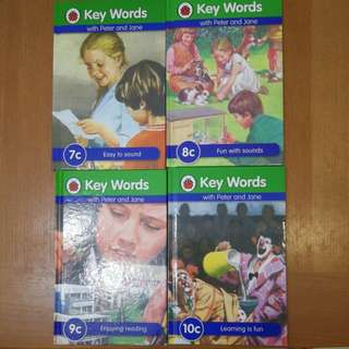 Key words with Peter and Jane 7c , 8c , 9c , 10c