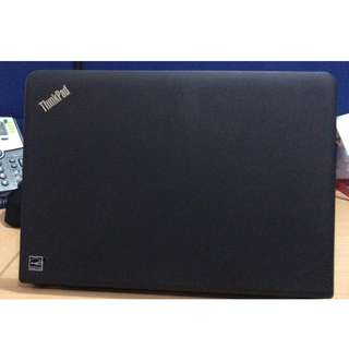 Refurbished Lenovo E450 Laptop with upgraded SSD