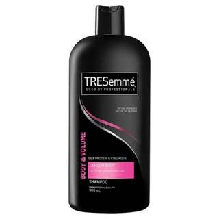 Tresemme shampoo 24 hour body shampoo 900ml