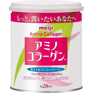 MEIJI AMINO COLLAGEN POWDERED DRINK MIX, 200G CAN - COD FREE SHIPPING