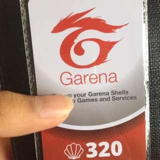 Wts Garena shell 320