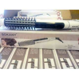 #15Off Sokany Hair Straightener & Curler 2-in-1