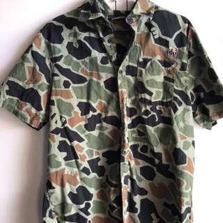 The Hundreds Camo Shirt