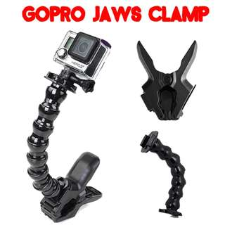 TGP037 Jaws Flex Clamp Mount for Gopro SJcam Xiaomi Action Camera Brand New