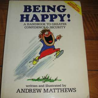 Book Being Happy-A handbook to greater confidence & Security-Andrew Matthews
