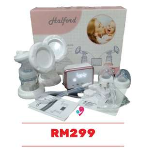 halford rechargeable breast pum