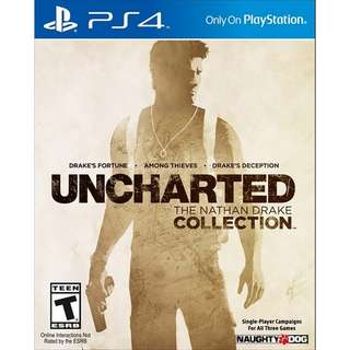 PS4 UNCHARTED COLLECTION (PREOWNED)