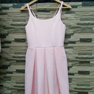 Apartment 8 baby pink dress