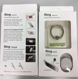 固定環, 電話托, 手機架, smartphone mount, ring hook