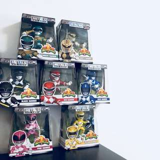 JADA TOYS POWER RANGERS