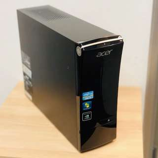 Great Take-And-Go Deal! Used Acer Desktop CPU PC