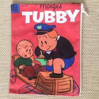 Marge's Tubby waterproof bag with zip