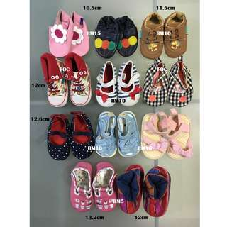 Prewalkers/ Baby Shoes/ Kasut Bayi