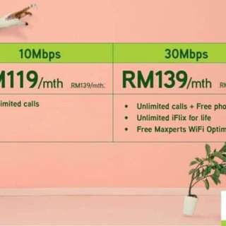 Maxis Home Fiber from ONLY RM119❗️❗️