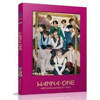 (PREORDER) Wanna One Unoffical photobook