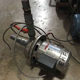 Ebara CDM 70/05 stainless steel centrifugal pump