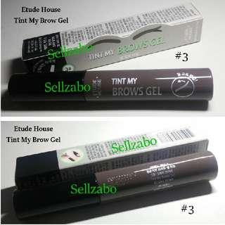 🆕Etude House : #3 Grey Brown Colour Tint My Brows Eyebrow Eyes Makeup Cosmetics Sellzabo