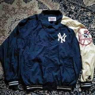 Vintage new york yankees baseball nylon jacket
