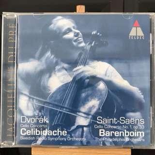 Jacqueline Du Pre Dvorak Saint-Saens Cello