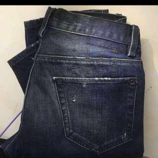 """澳洲潮牌""""Ksubi """"blue jeans 超靚洗水💦 。👑記得follow 我。重有大量款色"""
