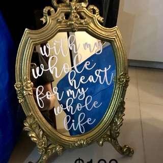 Deco 鏡子