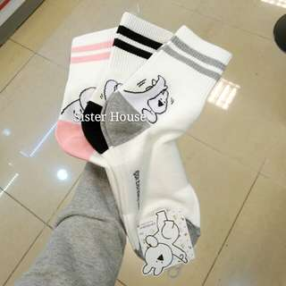 (包郵) Extremely Rabbit Socks 愛跳舞的兔子襪