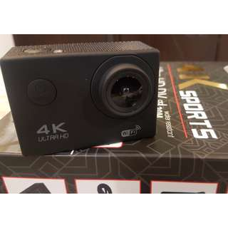 Murah 100% clear HD 4K Action Camera,Ready Stock For Sale