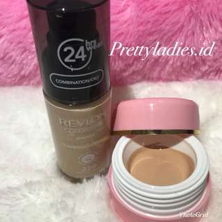 Share in jar ) Revlon Colorstay MakeUP 30ml