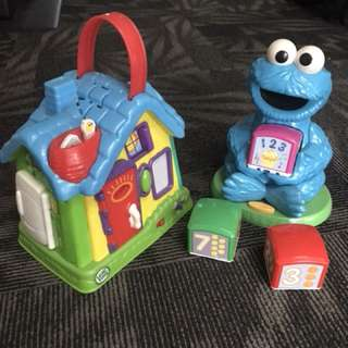 Good deal Leapfrog&Sesame Street learning toys