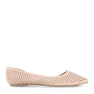 Laser cut out flats(Pink)