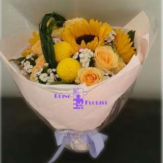 又有新款! 鮮花花束。情人節。玫瑰