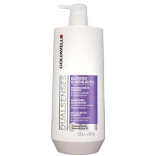 Goldwell Dualsenses Blondes and Highlights Anti-Brassiness Shampoo 1.5L