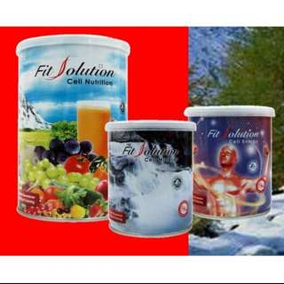 Fit Solution : Cell Nutrition, Cell Mineral, Cell Energy