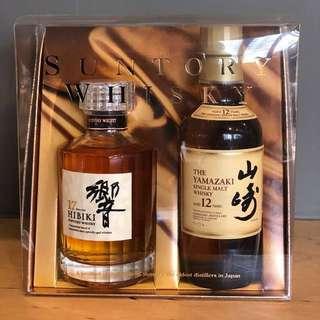 響 x 山崎威士忌 12年精裝版