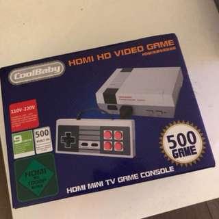 Classic retro Game Console