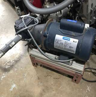 1/2 HP LEESON RPM-1725 Single phase electric motor