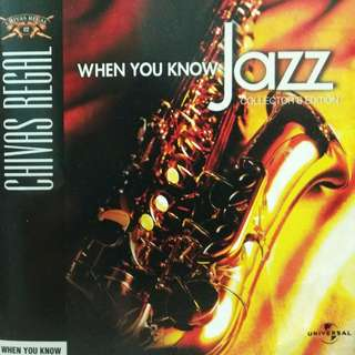 arthcd VARIOUS When You Know Jazz CD (WES MONTGOMERY, DINAH WASHINGTON, ELLA FITZGERALD, DUKE ELLINGTON, LOUIS ARMSTRONG, BILLIE HOLIDAY, LAURA FYGI, ANTONIO CARLOS JOBIM, STAN GETZ, JAMES TAYLOR QUARTET, MICHAEL FRANKS, SERGIO MENDES etc)