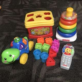 Good deal Fisherprice Learning toys