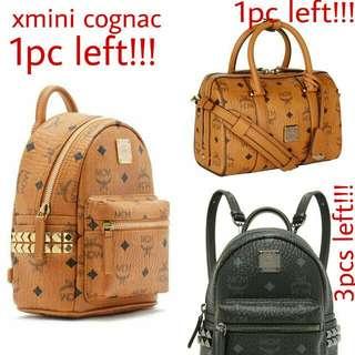 Auth Mcm Stark Bebe Boo Xmini Backpack